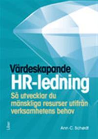Bra bok för dig som är ny på HR